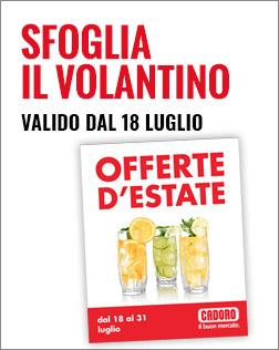 Volantino P16 dal 18/07 al 31/07