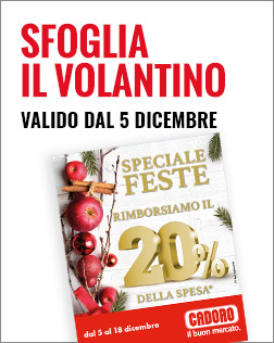 Volantino P25 - dal 05/12 al 18/12