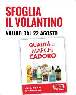 Volantino P18 dal 22/08 al 04/09