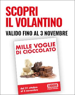 LANCIO VOLANTINI DAL 21 ottobre al 3 novembre