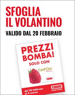 Volantino P5- dal 20/02 al 04/03