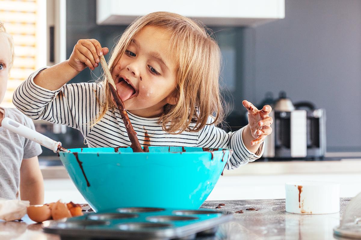 Merende sane con il cioccolato per i tuoi bambini