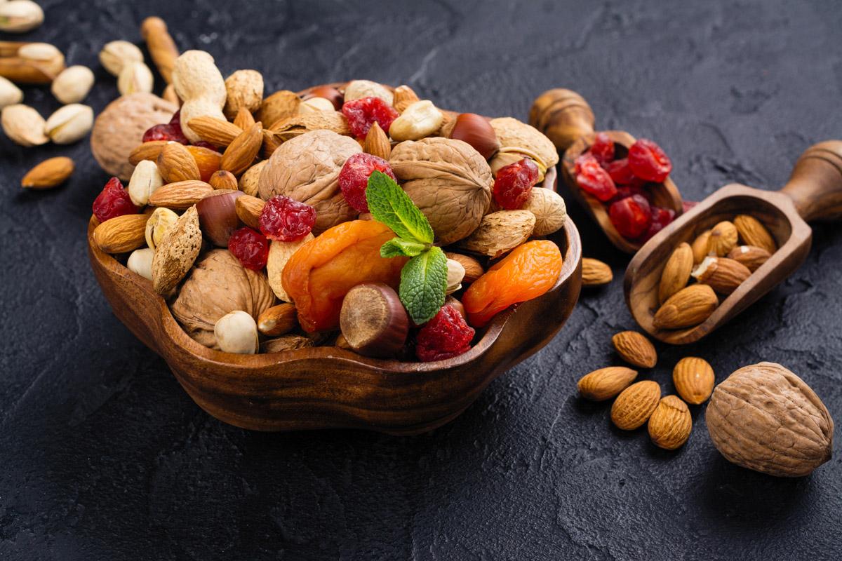 Frutta secca e disidratata