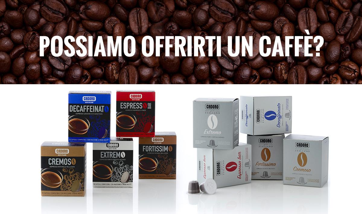 Evento degustazione caffè in capsule Cadoro