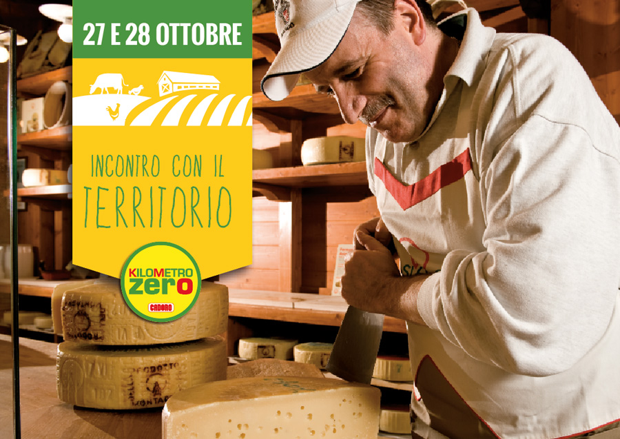 Cadoro incontra il territorio: il formaggio Asiago