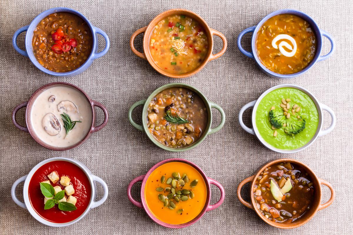 Zuppe e vellutate: piatto unico o primo piatto?