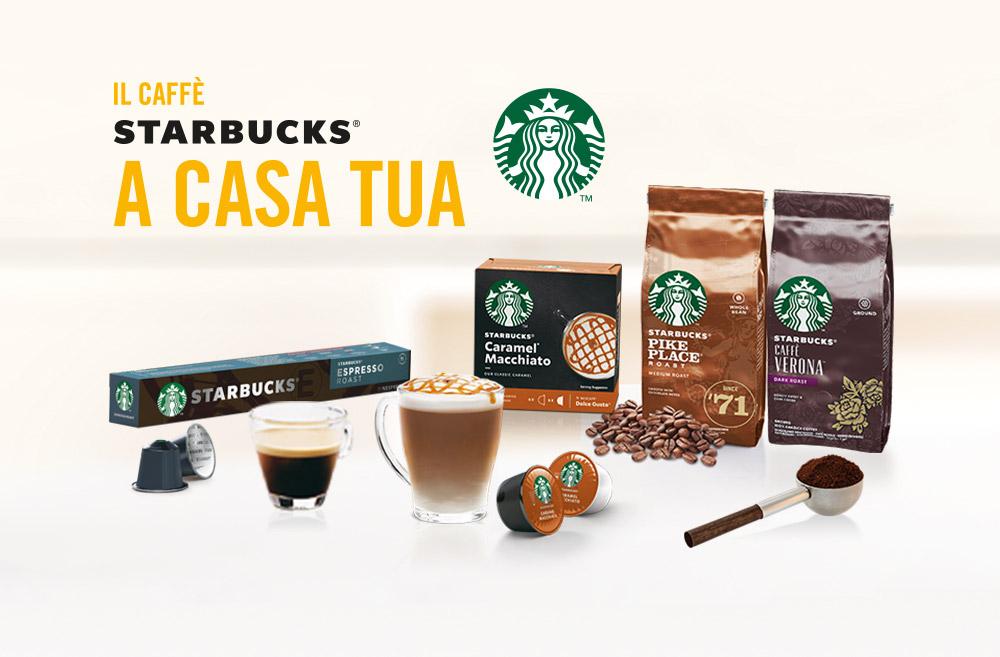 IL Caffè Starbucks® arriva finalmente da Cadoro