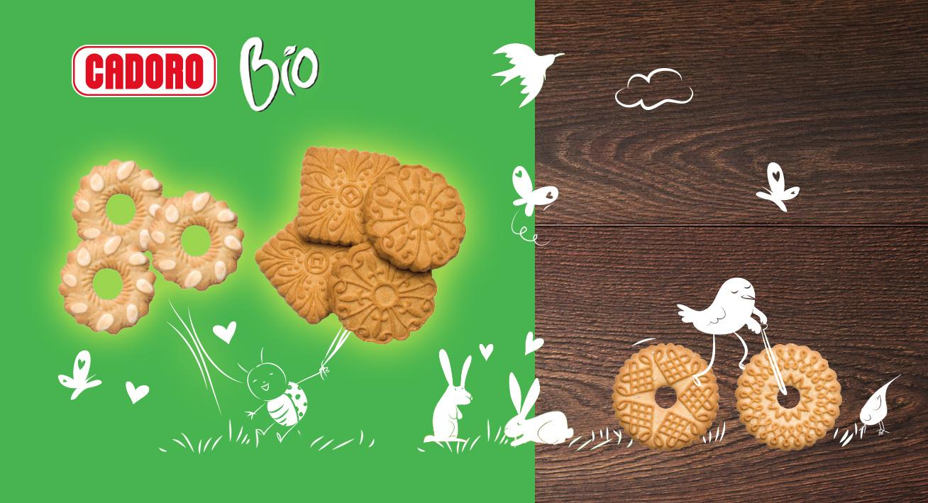 I biscotti Cadoro BIO