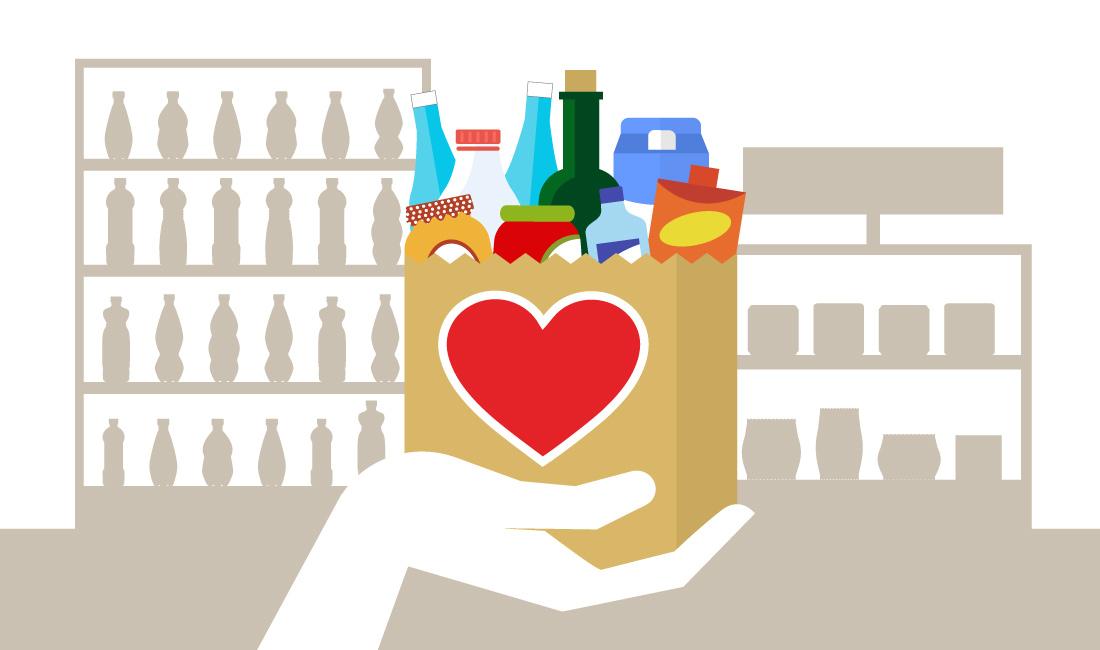 Spesa SOSpesa: un gesto semplice, un aiuto grande