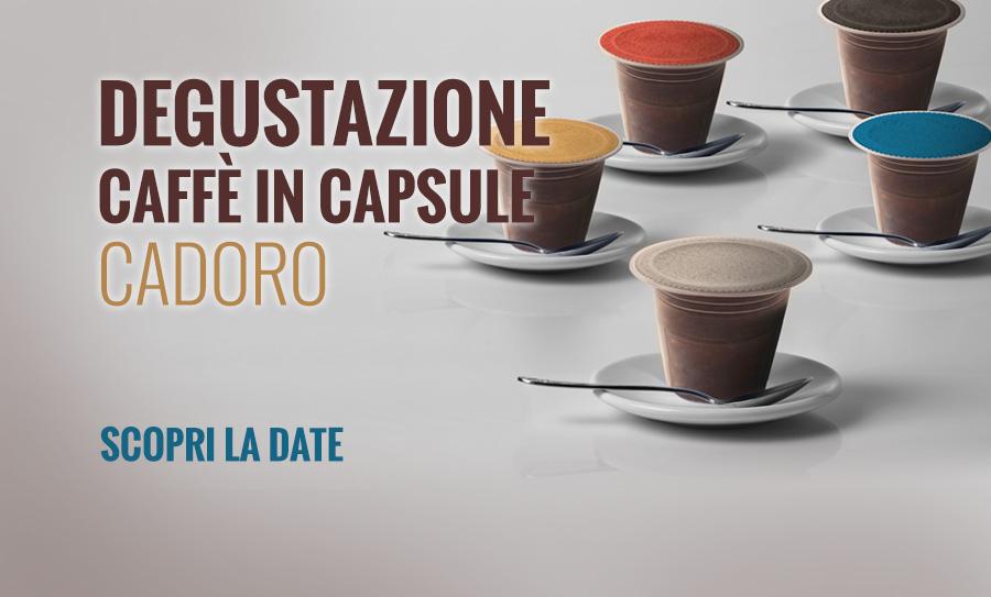 Nuovo caffè in capsule Cadoro: la bontà del bar a casa tua.